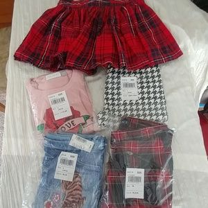 Lot of Fall Children's Place Girls 10-12 New